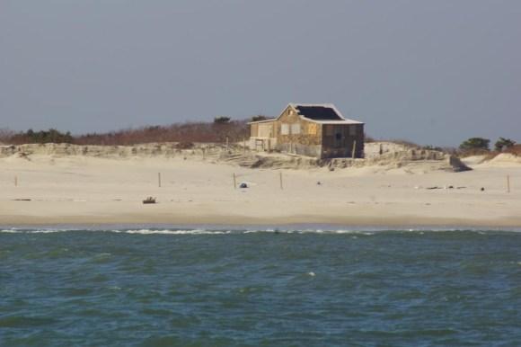 Island Beach State Park Judges Shack after hurricane Sandy ...