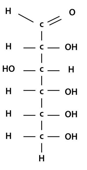 4 simple steps to drawing chain structure of glucose molecule