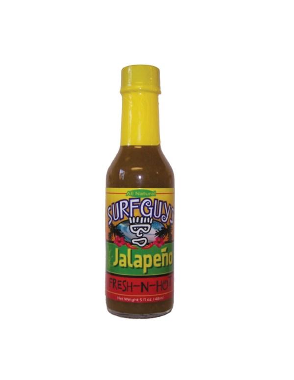 surfguys jalapeno hot sauce