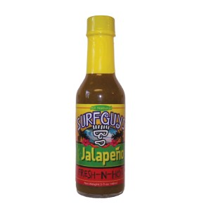 surfguys jalapeno hot sauce