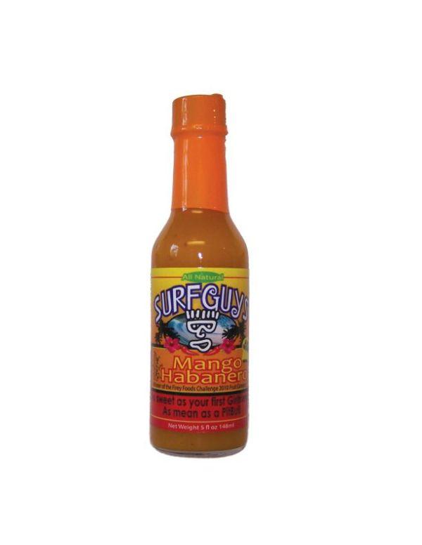 surfguys mango habanero hot sauce