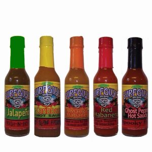 surfguys family of hot sauces