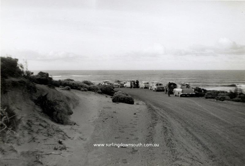 1964 MR Surfers Point car park - Arthur Sherburn pic img184