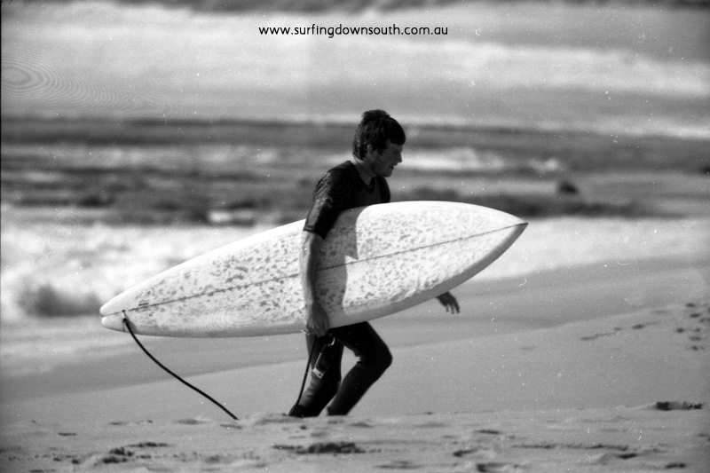 1976 Injidup Al Fixter with bum tail Sunrise Surfboard - R Chan img478