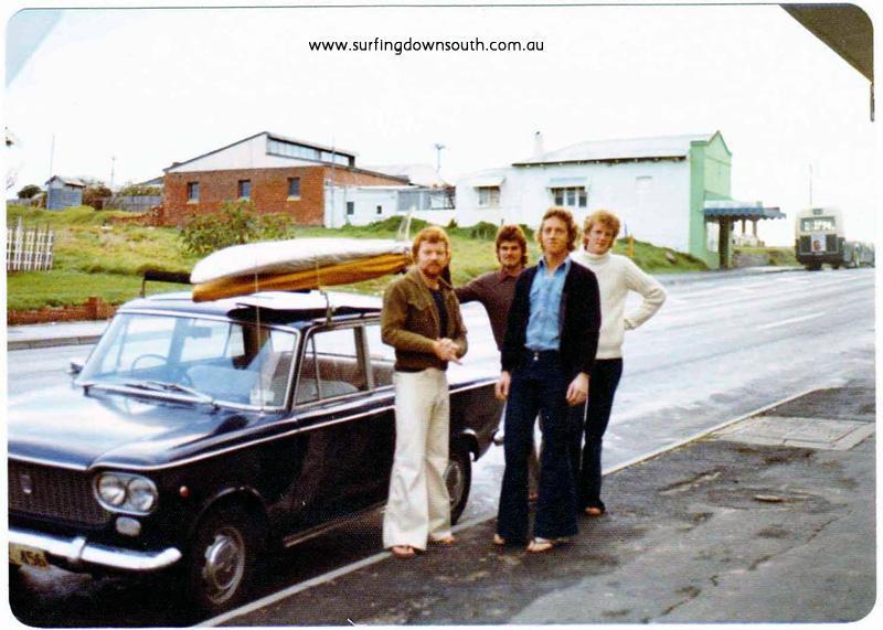 1973 Steve 'Blue' NIcholson, Ian 'Prive' Morris,  Micko & Rex Biddle Scarb P Mac pic