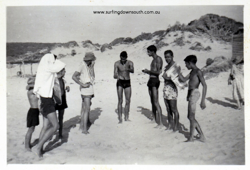 1955 Yalls beach people inc Bernie Huddle- J Budge  pic img358