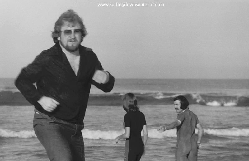 1975 Ocean Wet Suits Advt Ross Goodlet, Norm & Sandie Bateman - Ric Chan 011