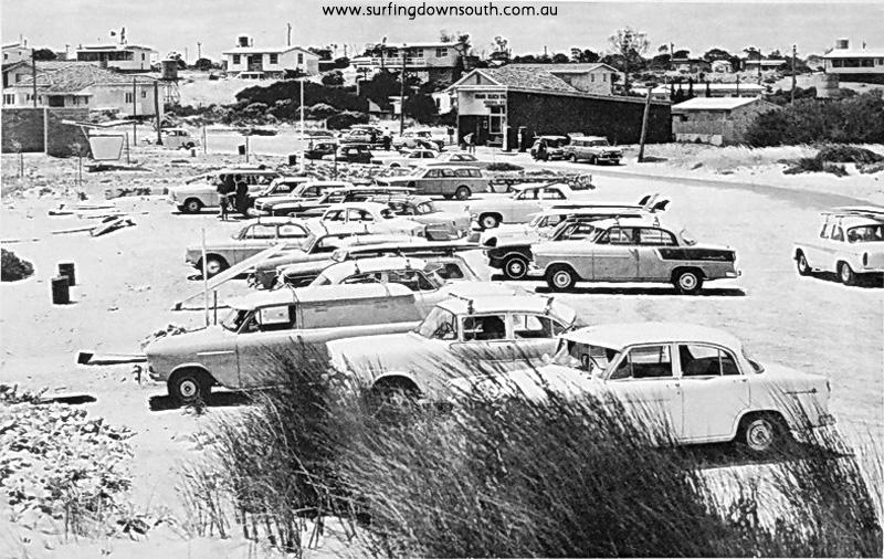 1967 Miami (Falcon) Bay car park - Len Dibben pic
