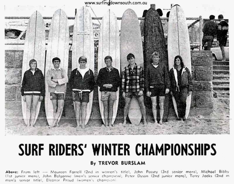 1966 Scarborough WA Winter Champs - T Burslem pic