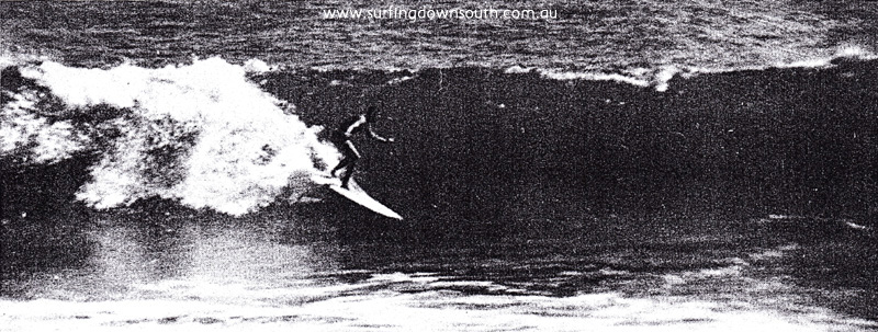 1967 Surf Illustrated Mag - Tom Collins WA article Graham Walmsley at Tims Thicket IMG_07