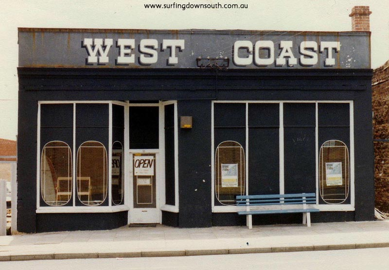 1973 West Coast surf shop - unknown A
