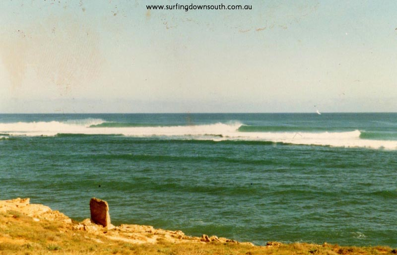 1975 Tombstones at Gnaraloo lineup - Craig Howe