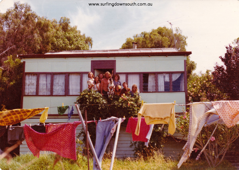 1975 Dunsborough Bay View Crescent rear rental house crew - Peter Mac IMG 01