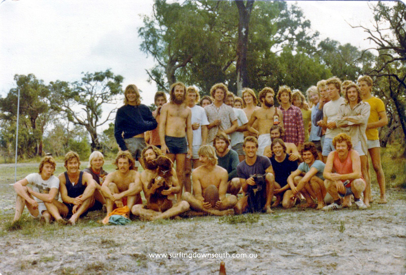 1975 Dunsborough Pig Breeders footy team Skins & Shirts - Peter Mac pic