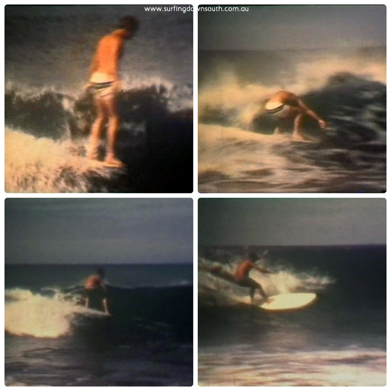 1964 Rocky Point surfing #1 collage_photocat