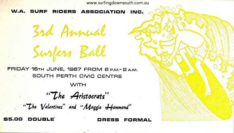 1967 3rd Annual Surfers Ball - J King pic