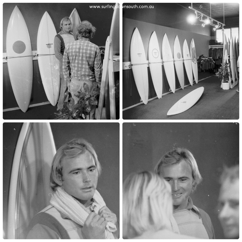1976 Red Hot Sticks surf shop Bicton 1 collage_photocat