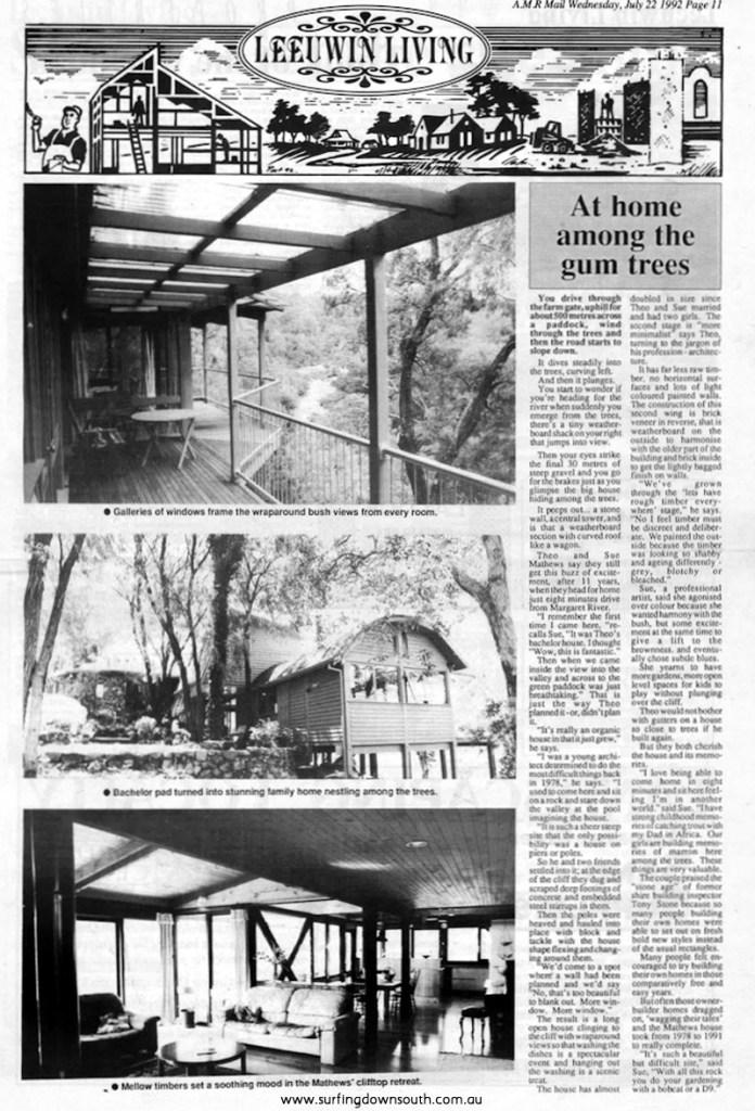 1977-78 Burnside Rd House Marg River. Theo Mathews pic (1)