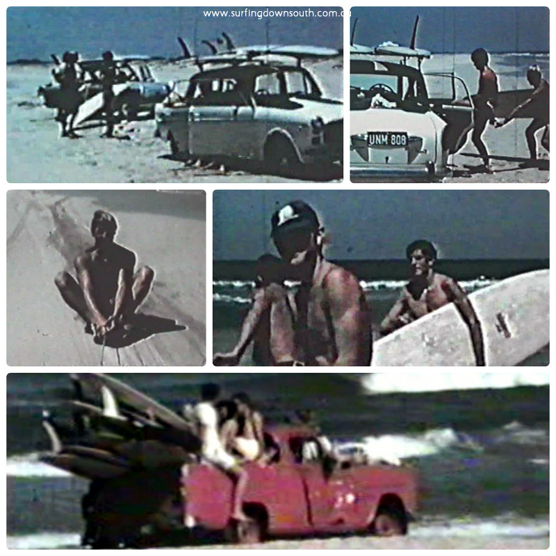 1960s Dubbo beach driving collage_photocat