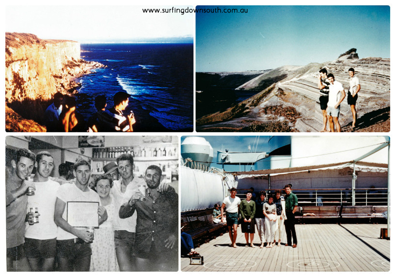 1961 East Coast trip Steve Mailey 3 collage_photocat