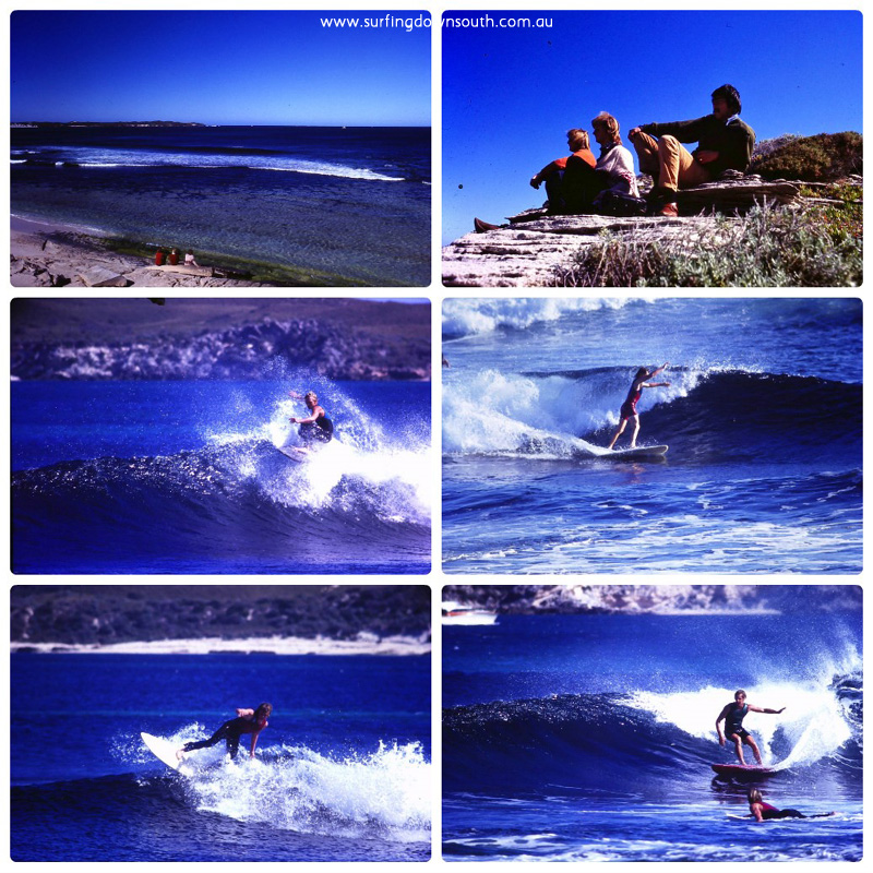 1970s Rotto surfing Chicken Reef Ric Chan