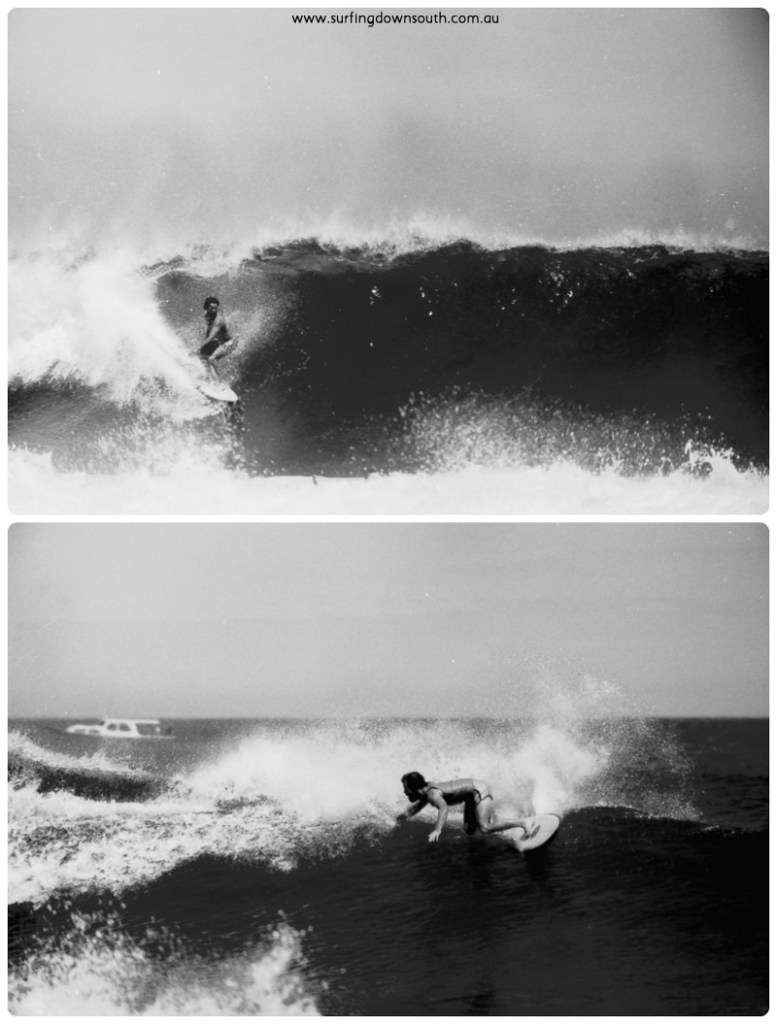1973 Rotto Al Bean surfing 2 collage_photocat