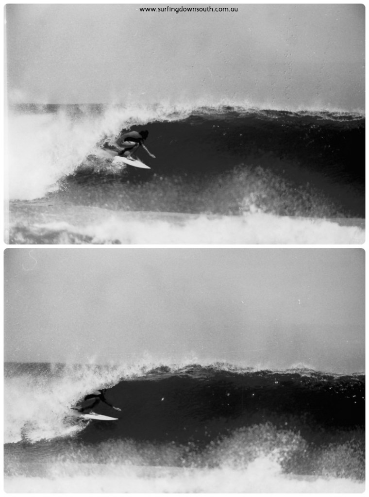 1973 Rotto Feggsie surfing 5 collage_photocat