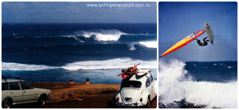1986 Hawaii Hookipa Rich Myers collage_photocat