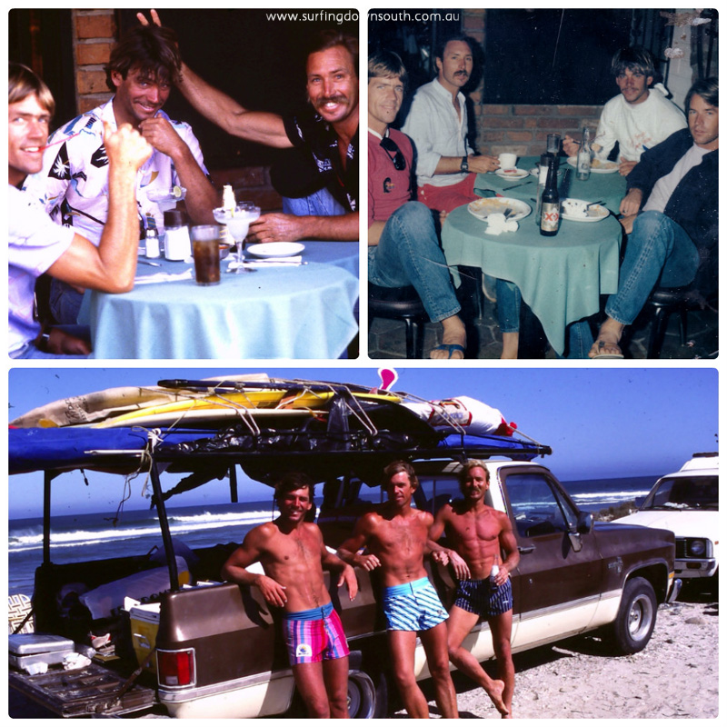 1980s Baja California Rich Myers & mates 3 collage_photocat