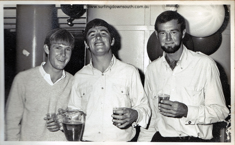 1960s river cruise Peter Dyson, Mike Byrom, & Gruff - PD pic IMG_0016