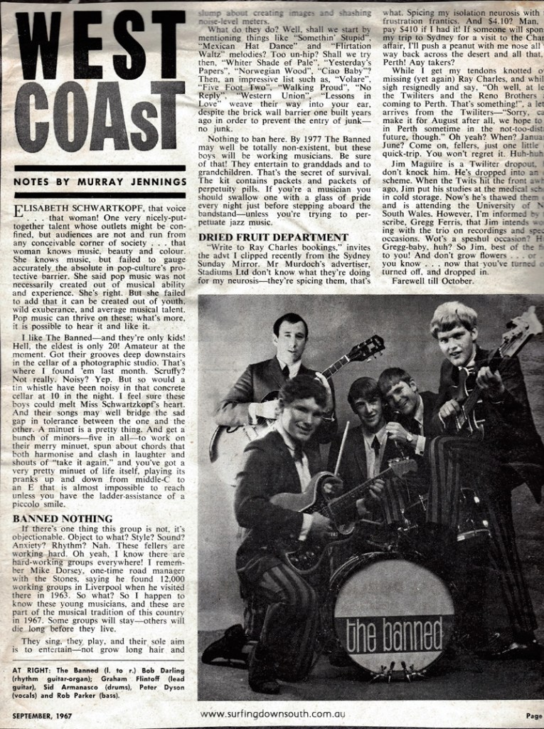 1966 The Banned review by West Coast mag - PD image IMG_0049
