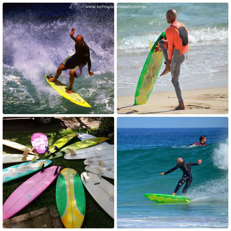 2000s Floyd Irvine quiver & surf pics 3 collage_photocat