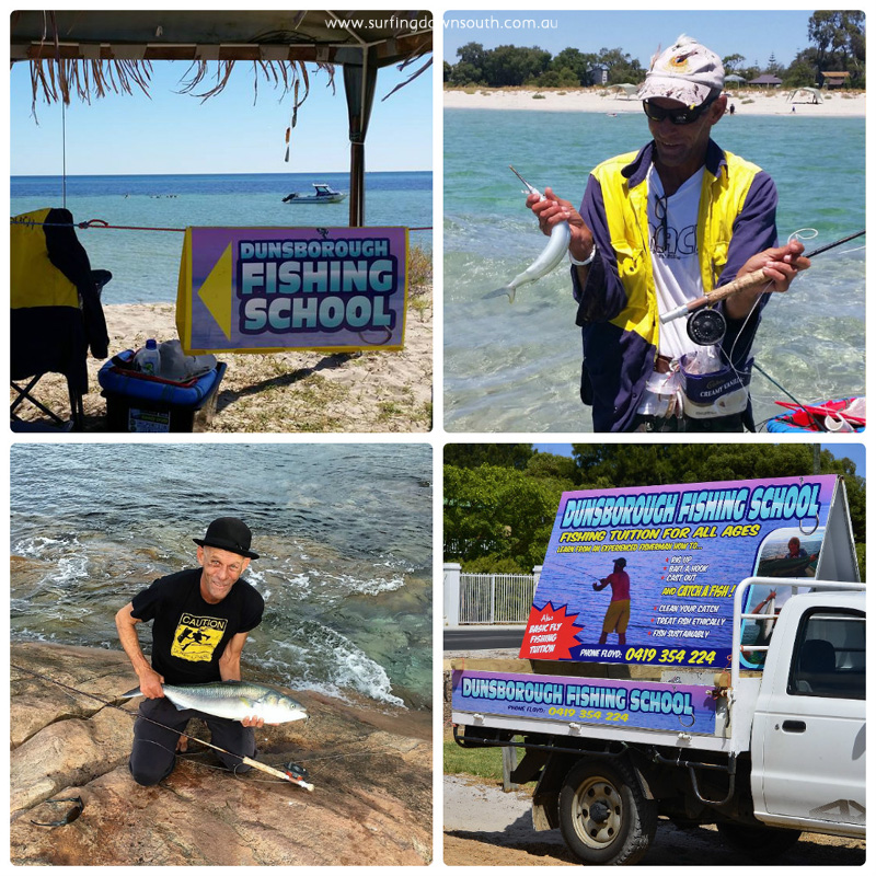2015-16 Floyd Irvine Dunsborough Fishing School 2 collage_photocat