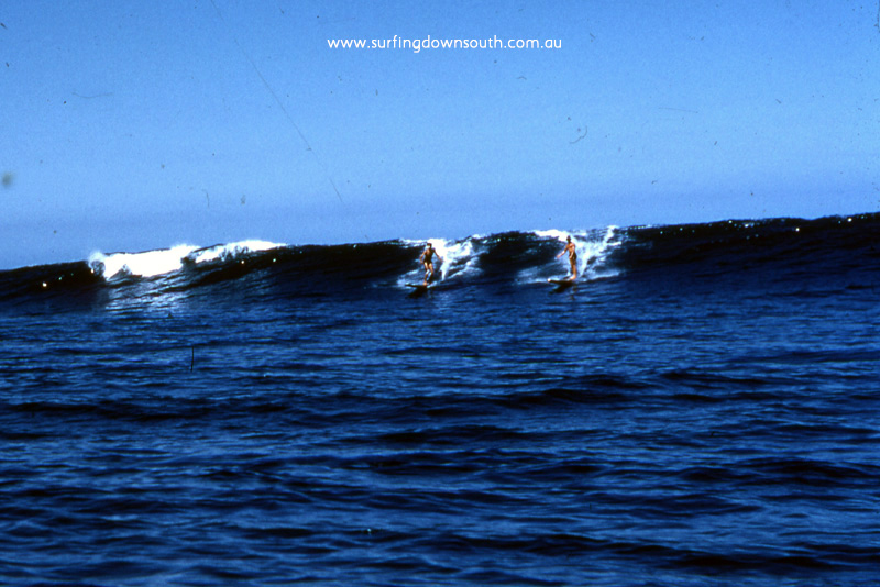 1957 Yalls Bernie Huddle & Keith Kino surfing wooden toothpick surfboards - JB pic img568