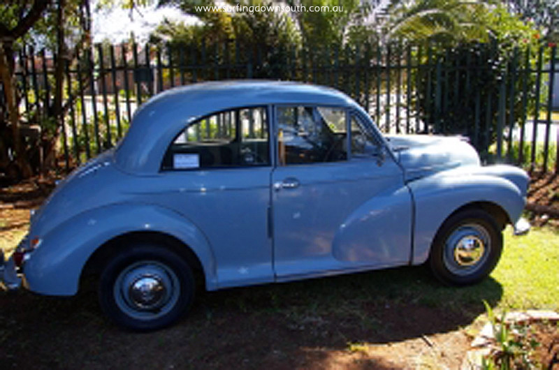 1955 model Morris Minor similar to Dave Aylett1
