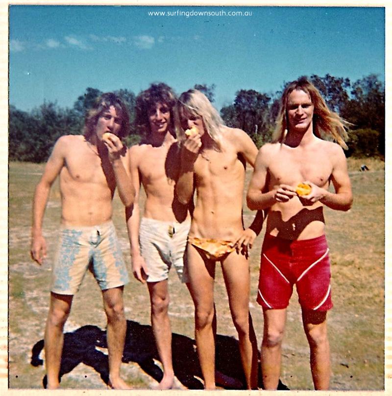 1977 Yalls Steve John, Andy Gary & John Gibbon - Andy Jones IMG_802