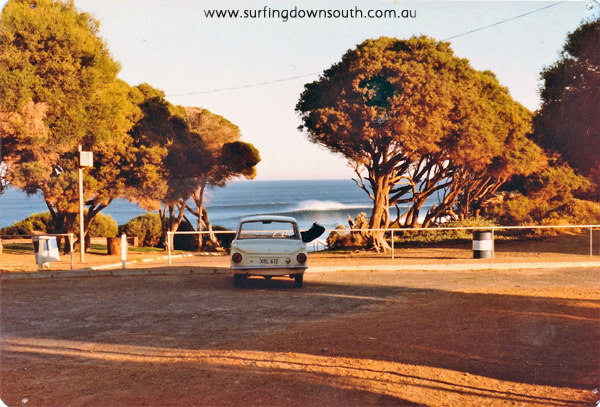 1980 Yalls car park Gary Gibbon's Cortina - Gary Gibbon pic IMG_0018