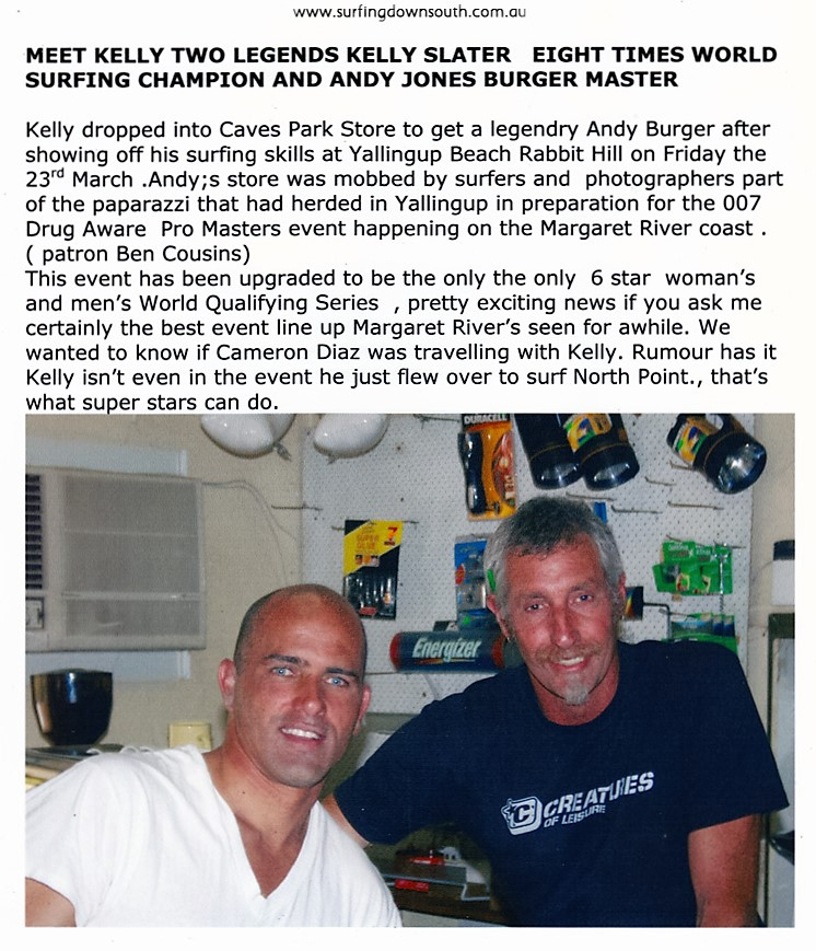 2007 Yalls Kelly Slater & Andy Jones at Andys Shop - Andy Jones pic_0005