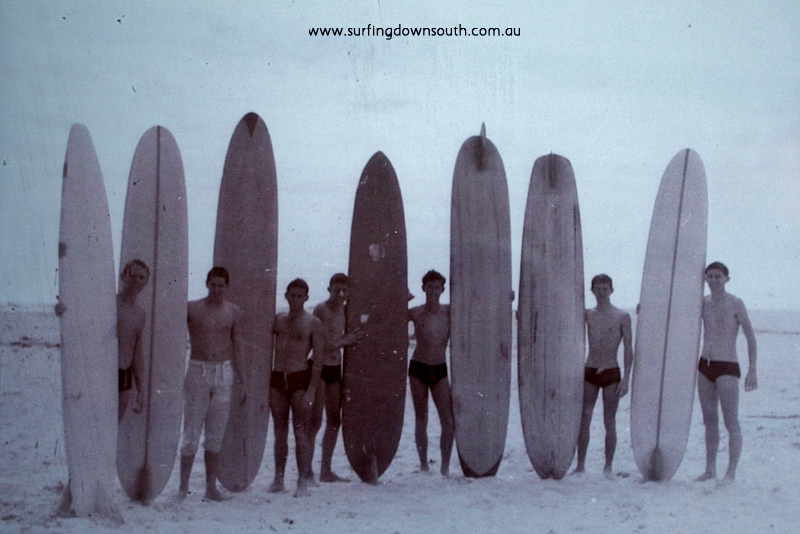 1961 North End Board Club Scarb P Longley, J Mackenzie, J Breadsell, W Smith, G Culmsee, B Sales & B Hunt - J Breadsell pic