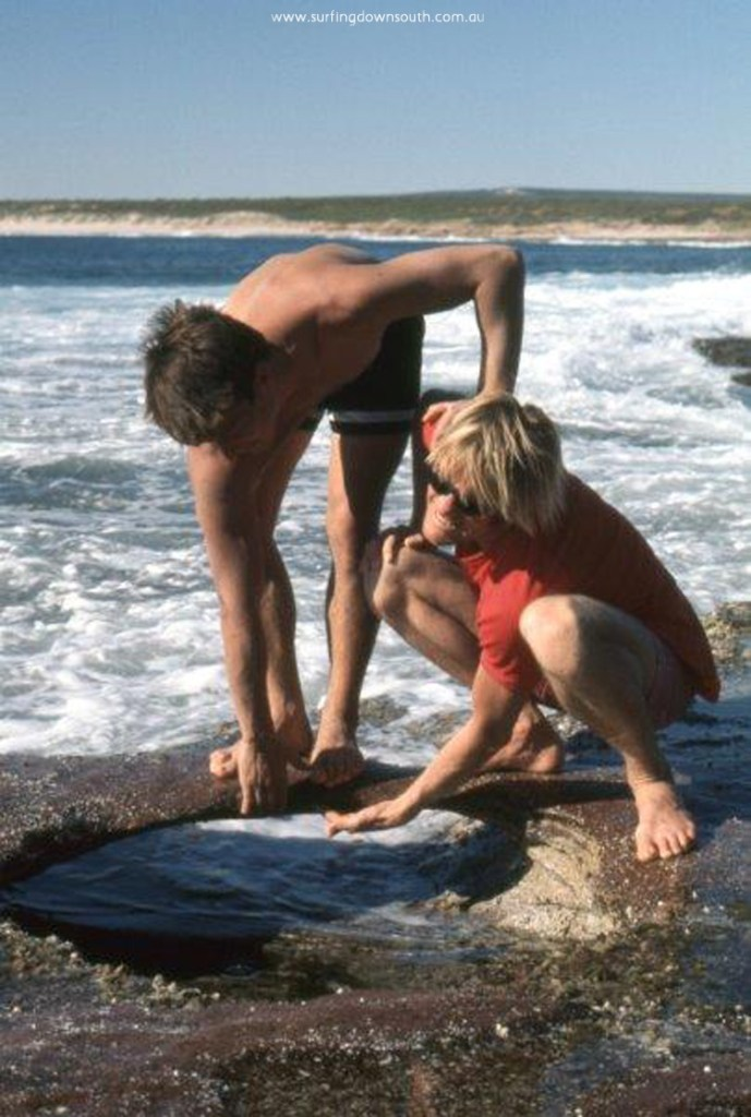 1969 Kalbarri Blue Holes Gerry Karaha & Murray Smith - Jim Breadsell pic1