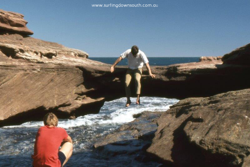 1969 Kalbarri Red Bluff Murray Smith & Gerry Karaha - Jim Breadsell pic2a