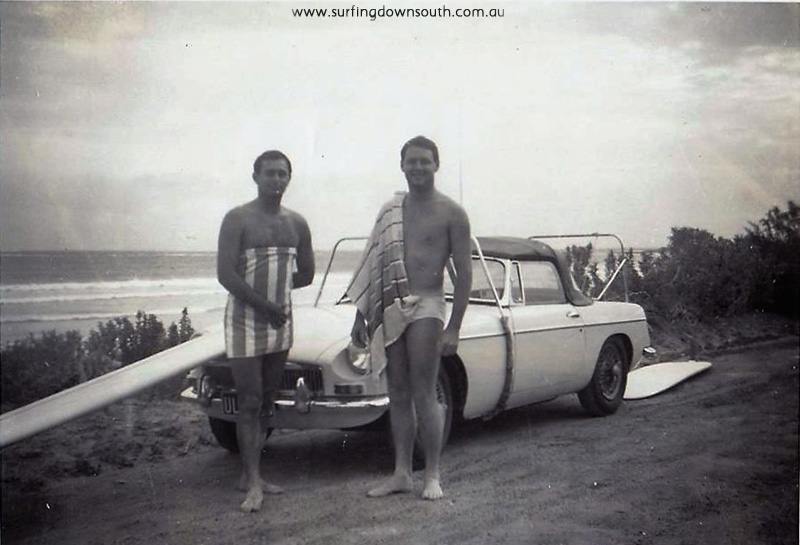 1965-surfaris-bc-john-ventouras-noel-and-his-mg-b-sports-car-with-custom-made-surf-racks-noel-sweeny-_n