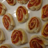 idealer partysnack - pizzaschnecken
