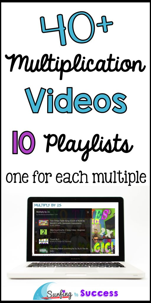 Are your students working on multiplication fluency? Multiplication videos are a great way to help students learn to count by multiples.