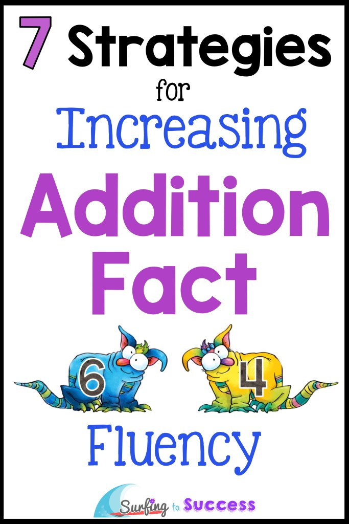 Are you teaching addition facts to your Kindergarten and First Grade Students? Check out this blog post with several addition strategies you can use whether you are focusing on addition facts to 20, addition 1-10, or addition 1-5. These math strategies will help with addition fact fluency whether your students practice with addition worksheets, addition games, or with Google Classroom resources. Math ideas for put together, part part whole, number line, Make Ten, doubles and more!
