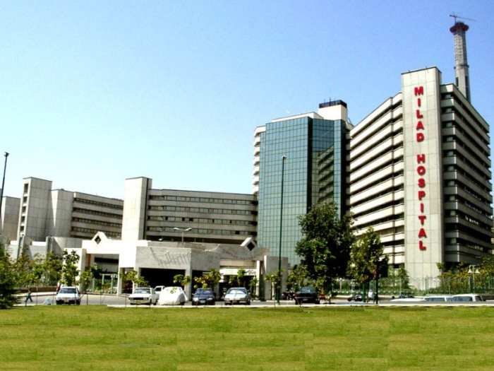 Milad Hospital is the largest specialized and subspecialized hospital in Iran.