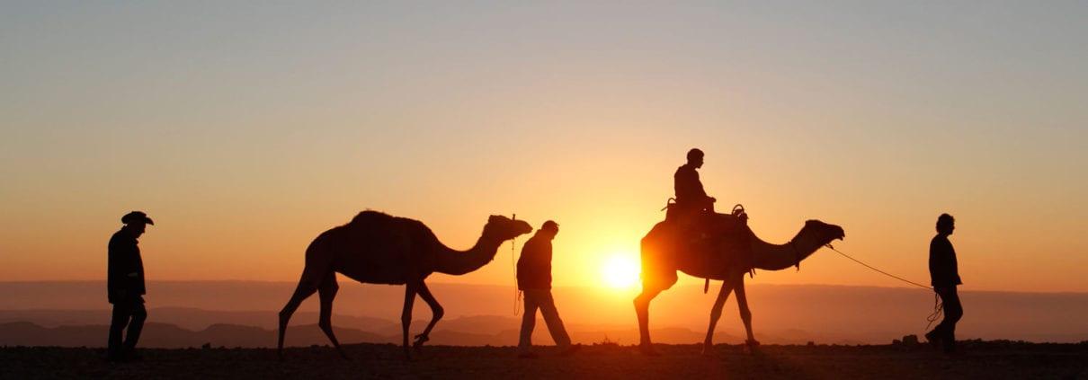 Iran Silk Road Tour Travelling through the desert of Iran
