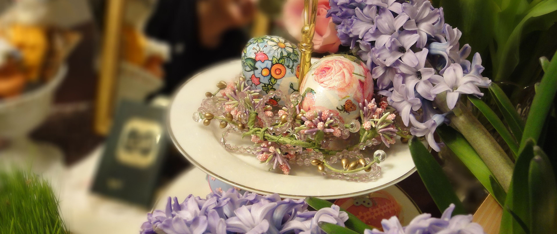 painted eggs Haft-Sin