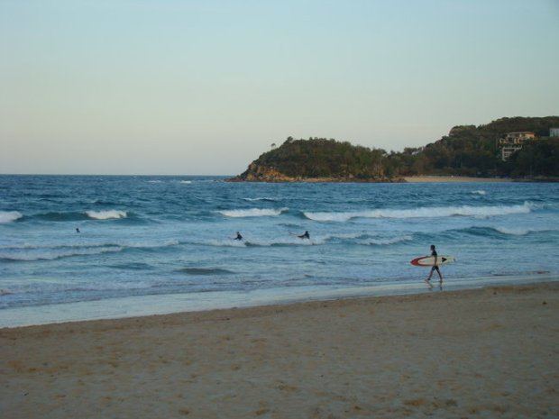 Manly beach surf