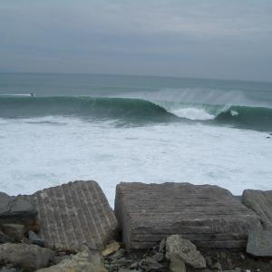 big wave surf spot roka puta